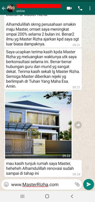 testimoni pesugihan kandang bubrah master rizha