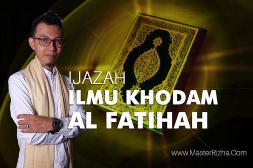 Ijazah Ilmu Khodam Al Fatihah